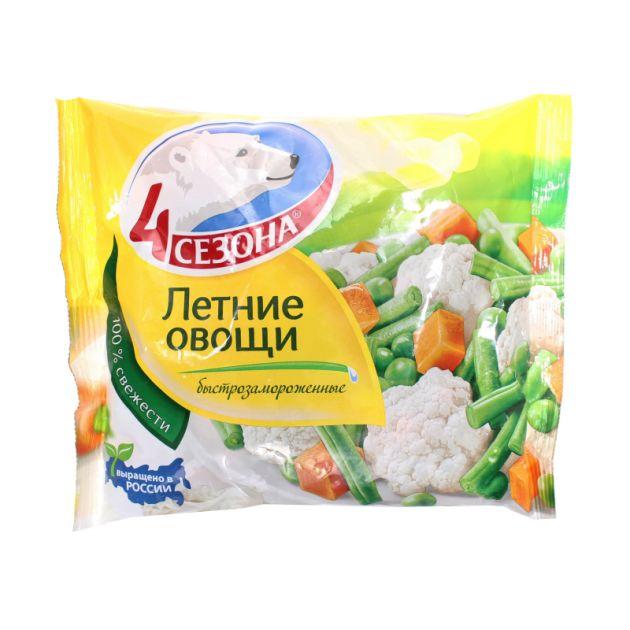 Смесь Летние овощи 400г 4 Сезона