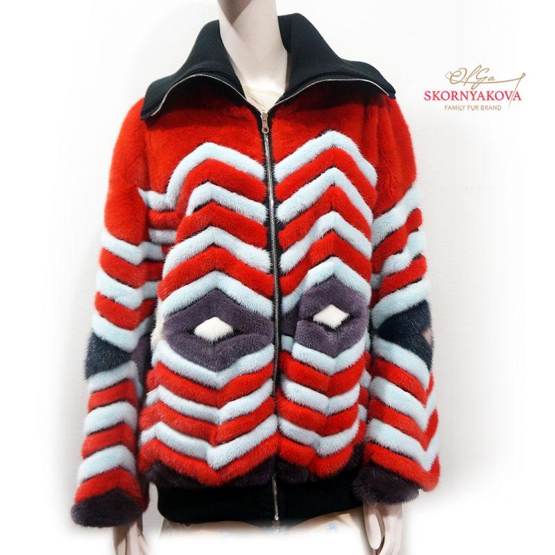 Двусторонняя куртка из норки/ Есть в других цветах