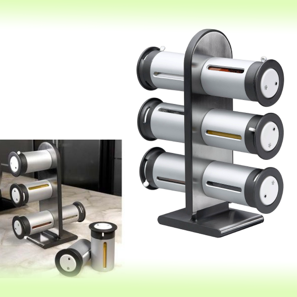 Набор для специй Wall Mounyed Magnetic Spice Rack