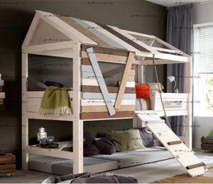 Кровать-чердак домик IR5