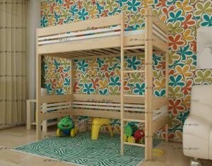 Кровать-чердак домик IR9