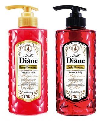Moist Diane Scalp Набор подарочный Шампунь бессиликоновый 500 мл и Бальзам-кондиционер 500 мл Объем и Уход за кожей головы