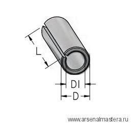 Втулка переходная с D8 на d6 L25 тип C WPW T080060