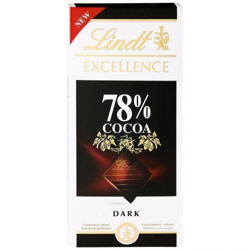 Şokolad Lindt Excellence kakao 78% 100 gr