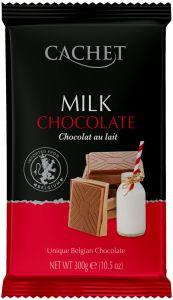 """Шоколад """"Cachet"""" Milk Chocolate, 32% Cocoa, 300 г"""