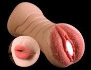 "Секс игрушка 2 в 1 ""Sex lips"""