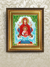 VIA4214 Art Solo. Икона Знамение. А4 (набор 850 рублей)