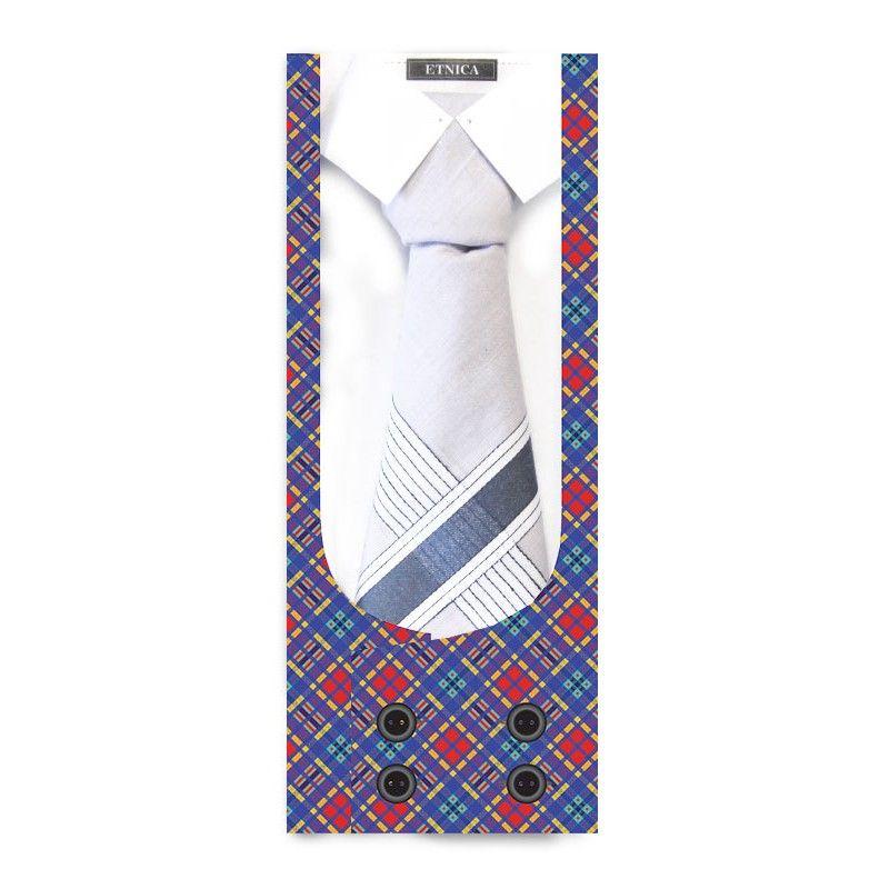 Пс07-3 Подарочный мужской носовой платок, 1 шт., 100% х/б