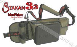 Stakan 3.3 держатель удилища + рыболовная сумка спиннингиста