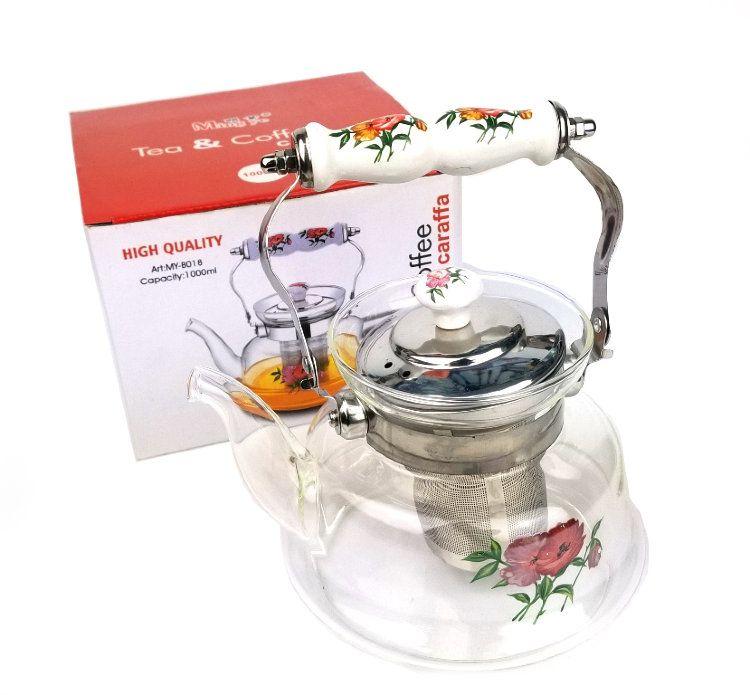 Заварочный Чайник С Металлическим Фильтром Caraffa, Объем 1400 Мл