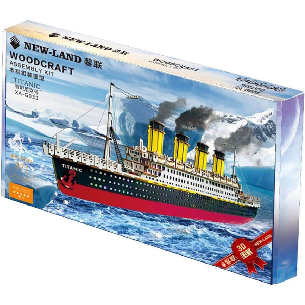 Титаник 3D пазл