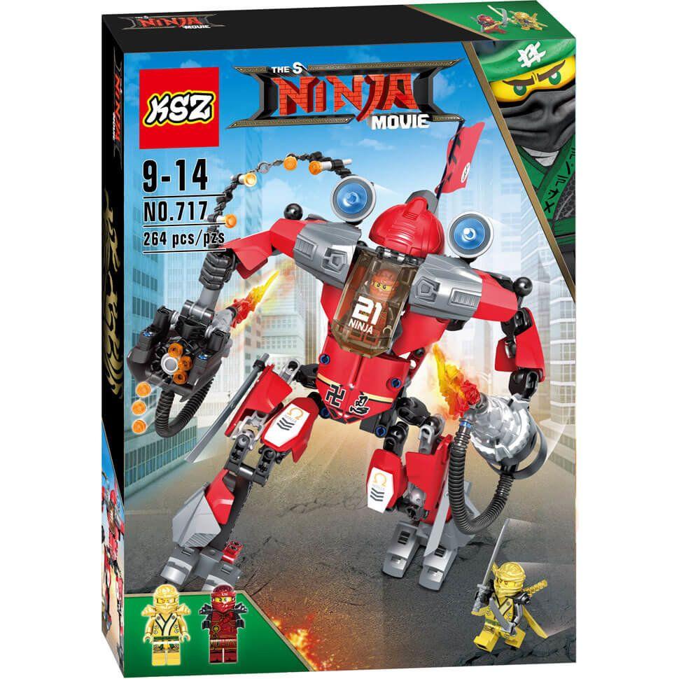 Фигурка Огненный робот Кая