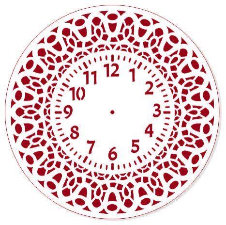 Трафарет для часов, ЭЛГ30-21, d=30 см
