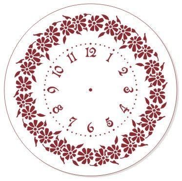 Трафарет для часов, ЭЛГ30-07, d=30 см