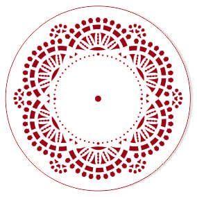 Трафарет для часов, ЭЛГ15-23, d=15 см