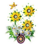 """Набор для детского творчества. Набор для квиллинга """"Букет цветов"""" (арт. М-8023)"""