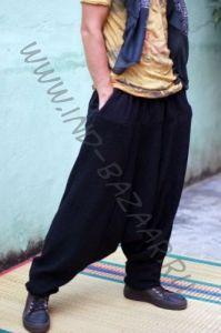 Теплые чёрные афгани из 100% шерсти (СПб)
