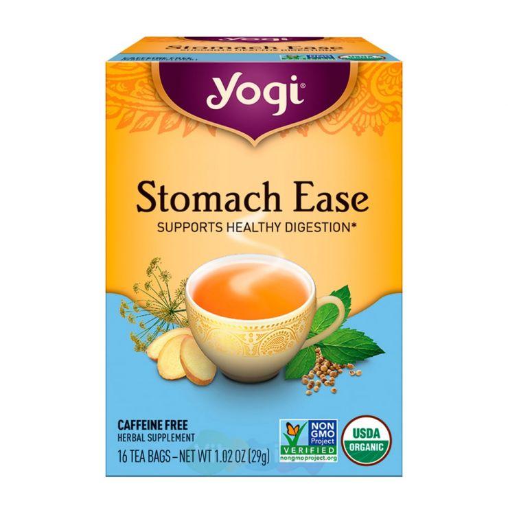 Yogi Tea Чай для улучшения пищеварения Stomach Ease, 16 пакетиков