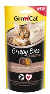 Gimcat Crispy Bits для кожи и шерсти 40 г