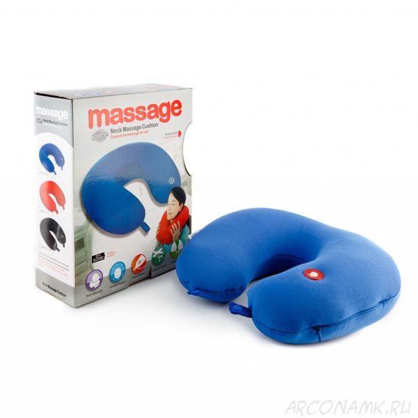 Массажная подушка-подголовник Neck Massage Cushion