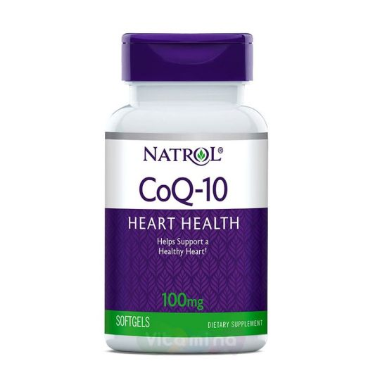 Natrol Co Q-10 100 мг Коэнзим Q10, 60 капс.
