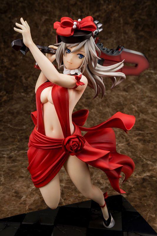 Аниме фигурка God Eater - Alisa Ilinichina Amiella Crimson Anniversary Dress Ver.
