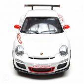 Машина р/у 1:24 Porsche GT3 RS, цвет белый 27 MHZ