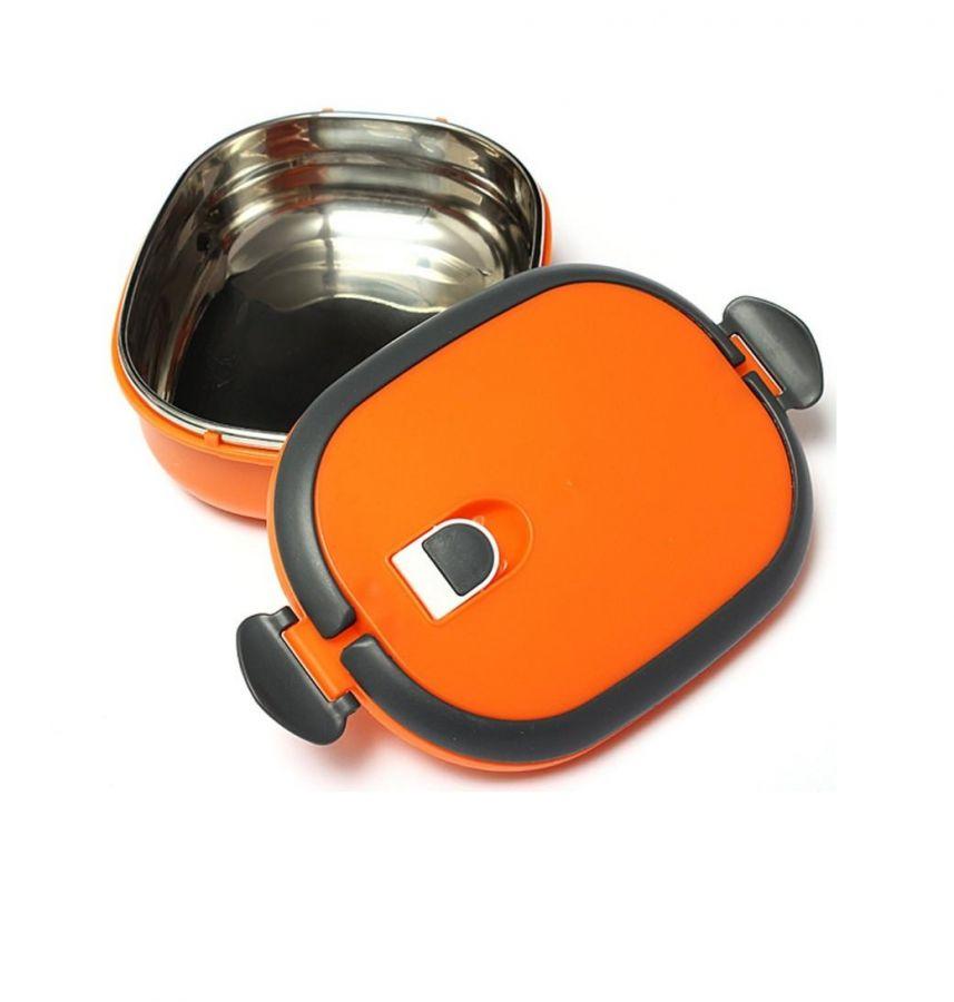 Овальный термо ланч-бокс с защёлками Lunch Box, 900 мл