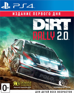 Игра Dirt Rally 2.0. Издание первого дня (PS4)