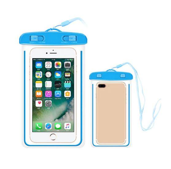 Водонепроницаемый Чехол-Пакет Для Телефона, Цвет Синий