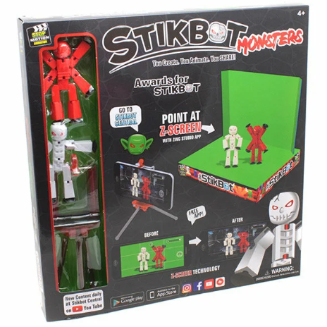 Cтикбот набор - Stikbot Studio Monsters