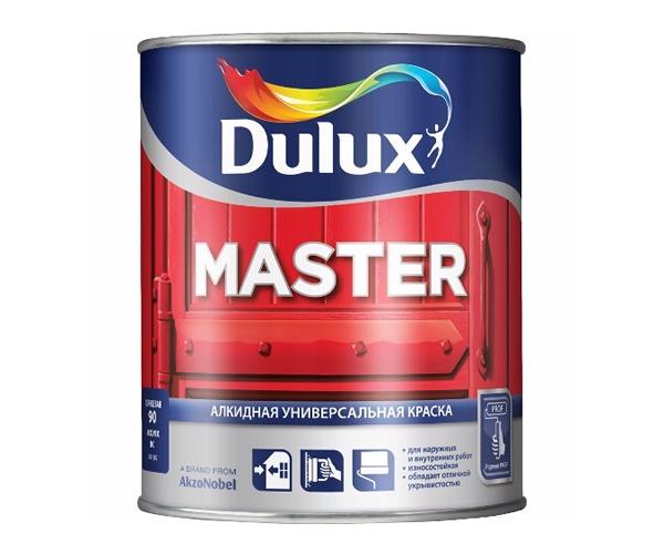 Dulux Master 90 универсальная эмаль глянцевая