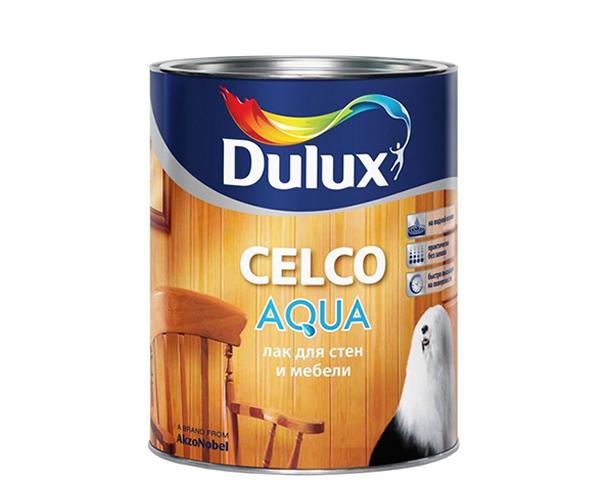 DULUX CELCO AQUA 70 водораствор. лак для внутренних работ, глянцевый