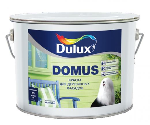 Dulux Domus полуглянцевая масляно-алкидная краска для деревянных фасадов