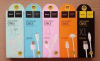 Кабель USB Hoco X1 3 в 1 Apple iPhone 5/iPhone 5C/... + micro USB + Type-C (1 метр) (white)
