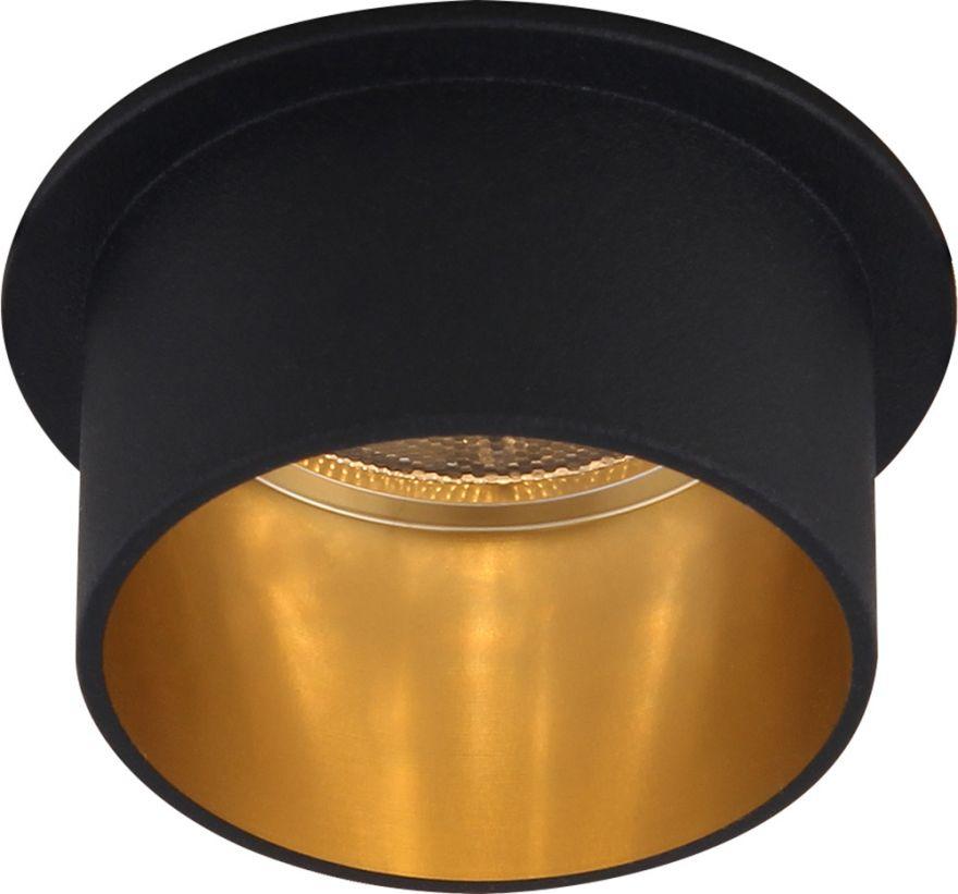 Встраиваемый светильник Feron DL6005 алюминий, черный, золото