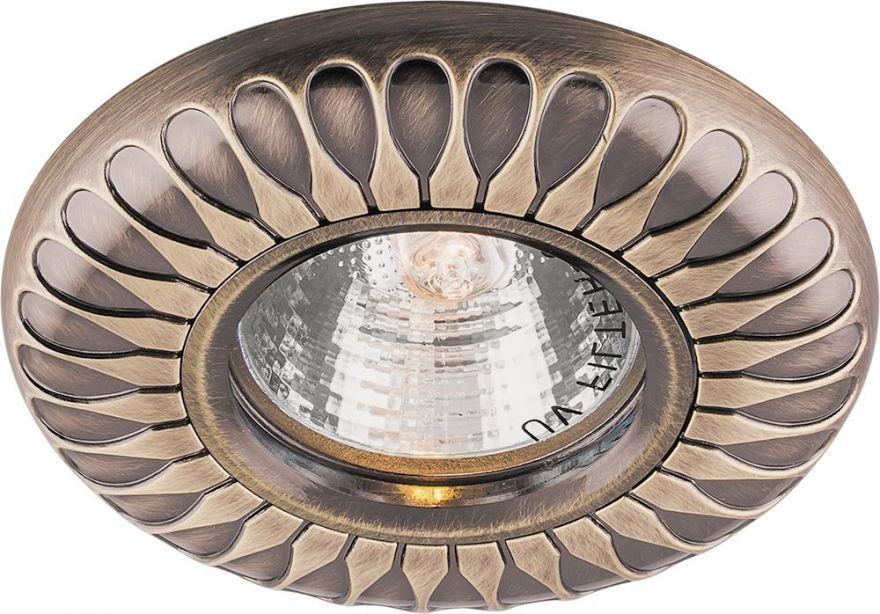 Встраиваемый светильник Feron DL6047 античное золото