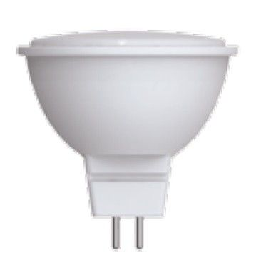 Светодиодная лампа Volpe NORMA MR16 GU5.3 220V 10W(800lm) 3000K 2K матовая 50x46 LED-JCDR-10W/WW/GU5.3/NR