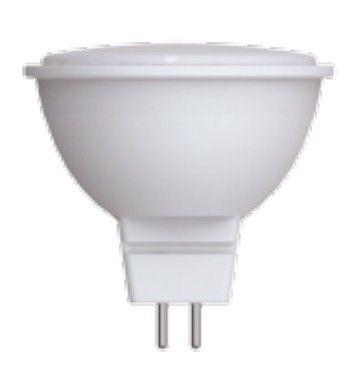 Светодиодная лампа Volpe NORMA MR16 GU5.3 220V 7W(600lm) 3000K 2K матовая 50x46 LED-JCDR-7W/WW/GU5.3/NR