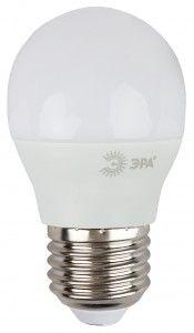 Светодиодная лампа ЭРА шар G45 E27 7W(600lm) 4000K 4K 88x45 P45-7w-840-E27 нов. уп-ка нов штрих-код 6247