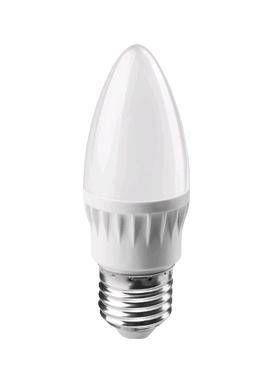 Светодиодная лампа ОНЛАЙТ свеча C37 E27 8W(600lm) 4000K 4K 106x37 OLL-C37-8-230-4K-E27-FR 71635