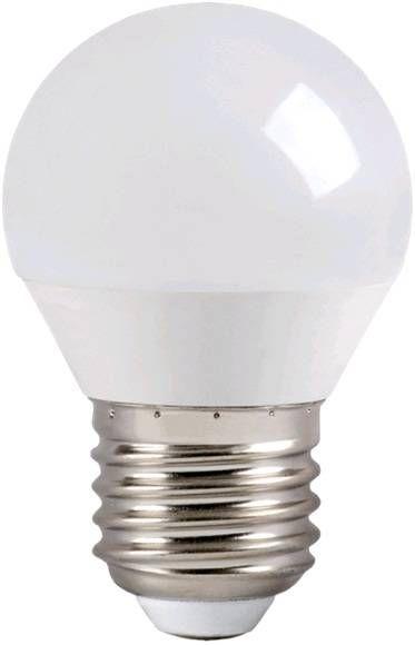 Светодиодная лампа IEK шар G45 E27 7W(500lm) 4000K 4K 78x45 матов. ECO LLE-G45-7-230-40-E27