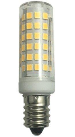 Светодиодная лампа Ecola T25 10W E14 4000K 4K 65x18 340° кукуруза (для холодил.,шв.машин) B4TV10ELC