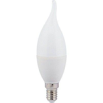 Светодиодная лампа Ecola свеча на ветру E14 8W 4000K 4K 129x37 C4YV80ELC