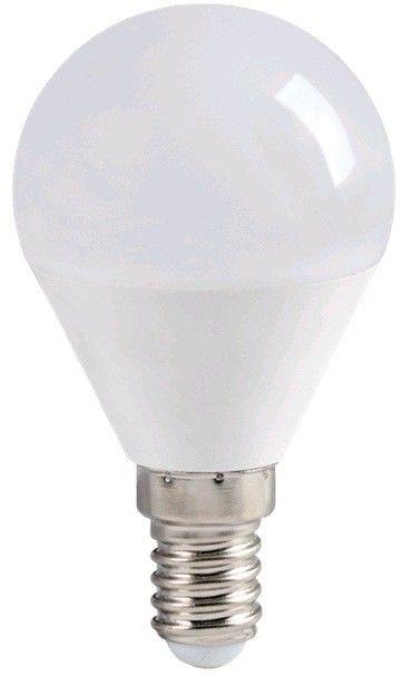 Светодиодная лампа IEK шар G45 E14 5W(450lm) 4000K 4K 78x45 матов. ECO LLE-G45-5-230-40-E14