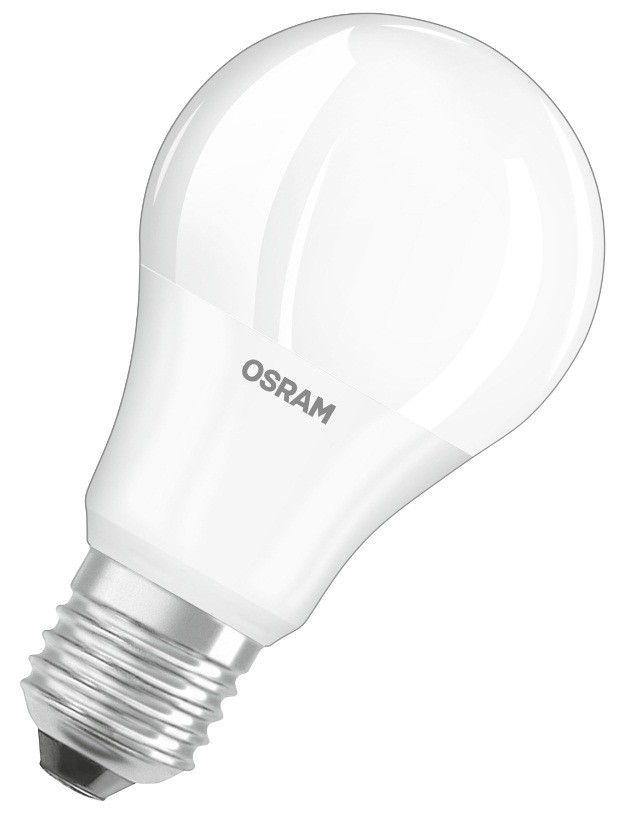 Светодиодная лампа OSRAM ЛОН A60 E27 10.5W(1060lm) 4000K 4K (11W) 110x60 мат. (аналог 100Вт) 4058075086678