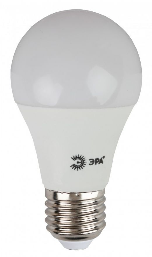 Светодиодная лампа ЭРА eco ЛОН A60 E27 10W(800lm) 4000K 4K 110x60 A60-10w-840-E27  6697