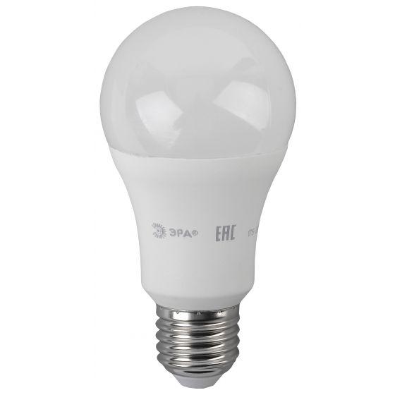 Светодиодная лампа ЭРА ECO ЛОН А60 Е27 16W(1280lm) 4000K 4K 124х60 A60-16w-840-E27