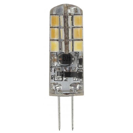 Светодиодная лампа ЭРА стандарт G4 12V 2.5W (200lm) 2700K 2К 38х13 LED-JC-2.5W-12V-827-G4