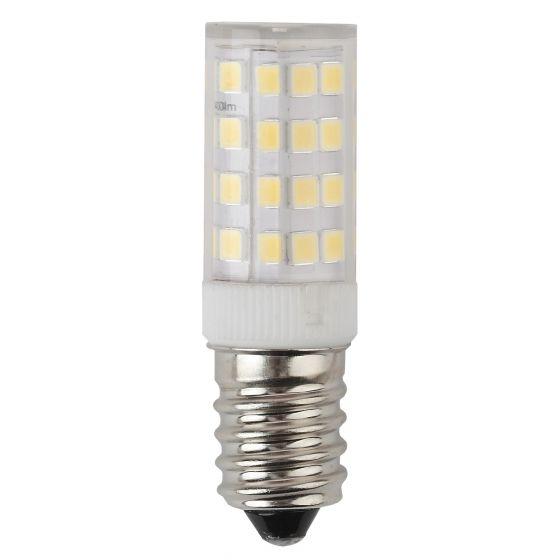 Светодиодная лампа ЭРА Т25 7W (560lm) E14 2700K 2K 65х16 кукуруза (для холодил., шв. машин) LED T25-7W-CORN-827-E14